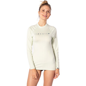 Rip Curl Sunny Rays Relaxed L/S Maglietta Uv Donna, mint
